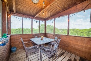 Screened Porch View 1