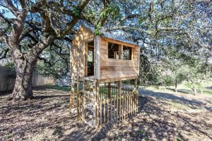 treehouse on the grounds