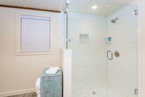 Upstairs Master Bathroom Shower