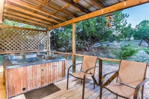 Hot Tub and Chairs