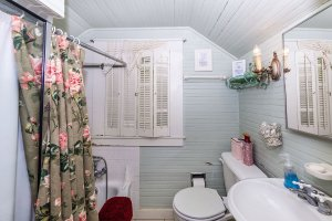 Grape Arbor Upstairs Bathroom