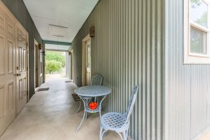 Outdoor Seating and Breezeway