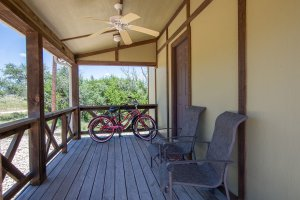 Front Porch and Bicycles