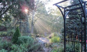 Public Walking Garden in Muncie IN River Gardens B&B
