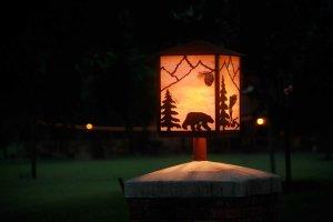Bear design lantern