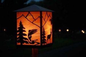 fish designed lantern