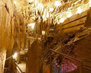 Pathway through Caverns