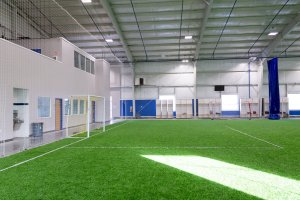 Shooters Soccer Club Facility interior field