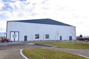 Shooters Soccer Club Facility exterior lawin