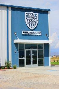 Shooters Soccer Club Facility exterior main entrance