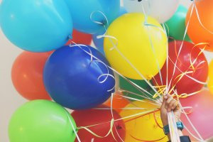 Shooters Soccer Club Facility party balloons