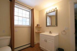 Old Saco Inn Heather's Loft vanity