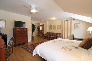 Old Saco Inn Heather's Loft full room from bed