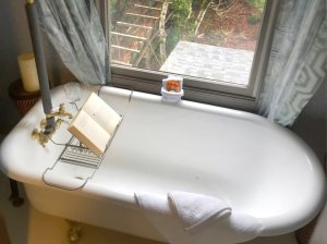 Large Bathtub with Book