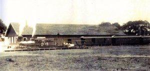 Los Alamos historic train station