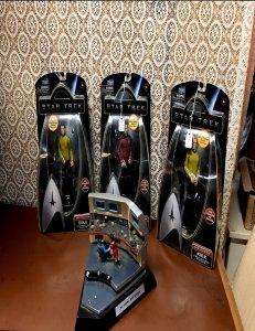 old Star Trek action figures