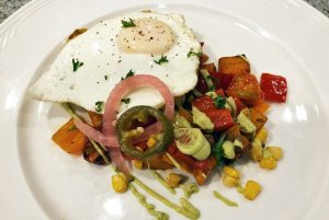 egg and potatoe breakfast