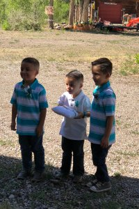 Three little Boys