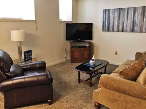 Family Room with Television