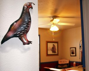 Quail Decor on Wall