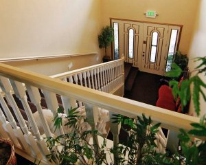 Staircase to the Front Door