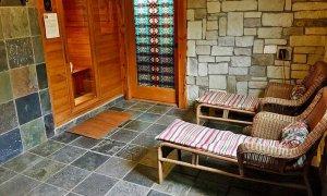 Two Beach Chairs Near Sauna