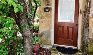 Front Door of Cottage
