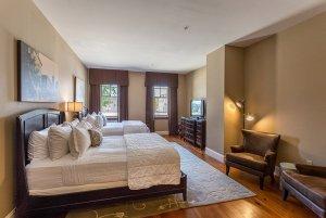 Two Queen-sized beds in bedroom