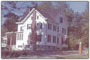 Exterior in September 1963, Weyside Inn in Big Indian, New York