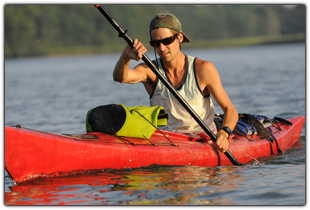 kayaking on Esopus near Weyside Inn and Cottage in Big Indian, New York