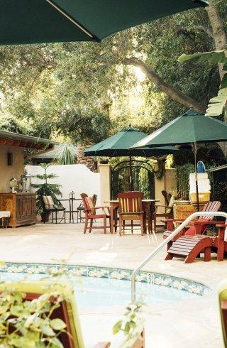 Pool at Emerald Iguana in Ojai, California