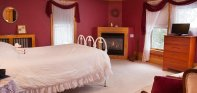 Queen Anne's Lace room at The Sawyer House in Sturgeon Bay, WI