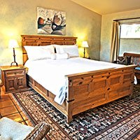 #10 room in Blue Iguana Inn in Ojai, California