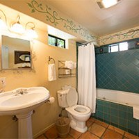 bathroom room # 7 at blue iguana inn