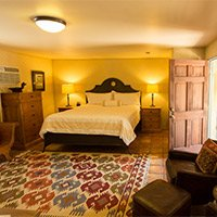 #7 Room in Blue Iguana Inn in Ojai, California