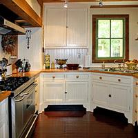 kitchen at 66 Center in Eureka Springs, Arkansas