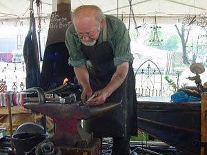 blacksmith in Prairie du Chien in Wisconsin