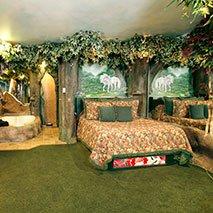 Enchanted Forest Suite in Black Swan Inn in Pocatello, Idaho