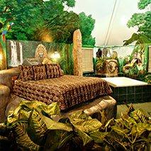 Jungle Falls Suite in Black Swan Inn in Pocatello, Idaho