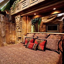 Mayan Rain Forest Suite in Black Swan Inn in Pocatello, Idaho