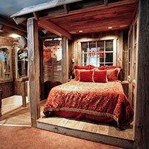 Wild West Suite in Black Swan Inn in Pocatello, Idaho