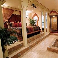 Morocco Room in Destinations Inn in Pocatello, Idaho