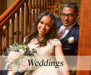 Weddings at Historic Webster House in Bay City, Michigan