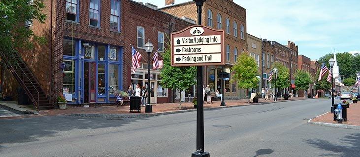 Downtown Main Street Jonesborough Tennessee