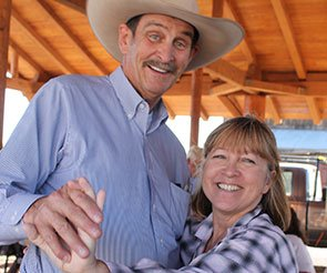 Dancing Fun at Trappers Rendezvous in Williams, Arizona