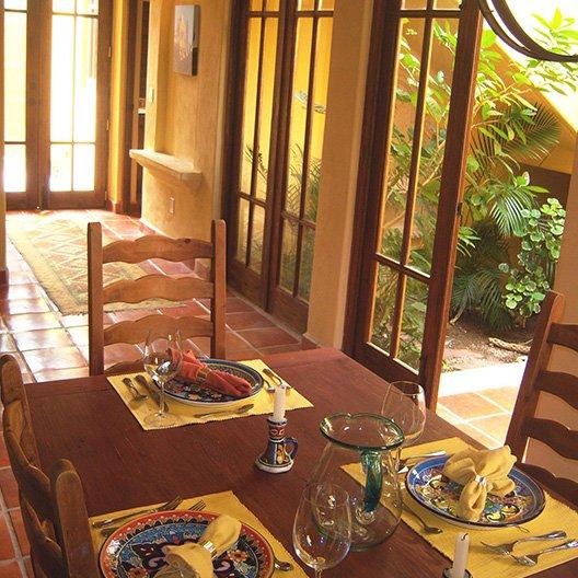 Casa de Playita Dining Room Table