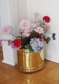 Flowers in the Corner at Confederate House