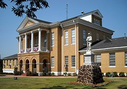 Choctaw County Courthouse at Butler, AL