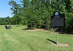 Tuscahoma (Red Warrior) Historical Marker near Mt. Sterling, AL