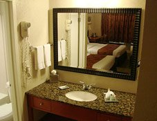 Guest Rooms at Lodge at Russell in Russell, Kansas